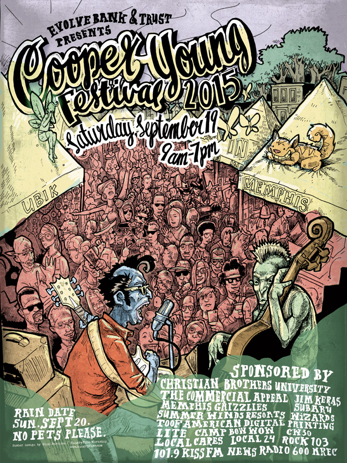 Cooper Young Fesitval Poster